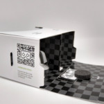 Virtual Reality Cardboard Offen
