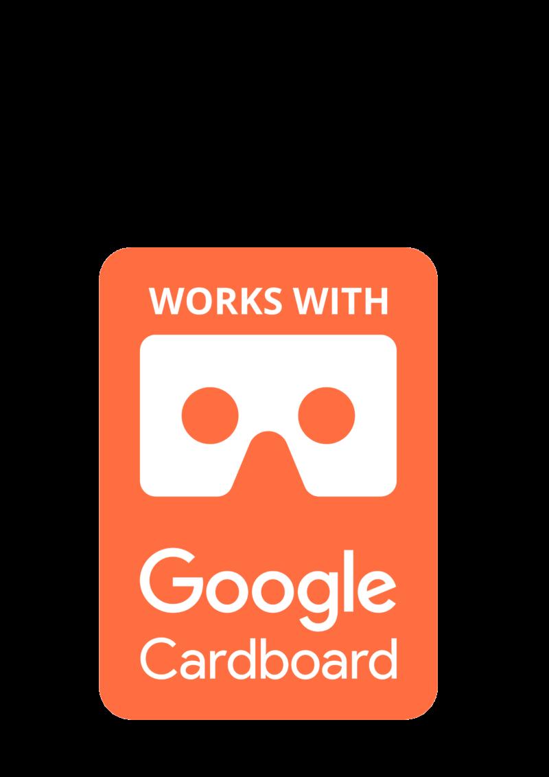 works with google cardboard