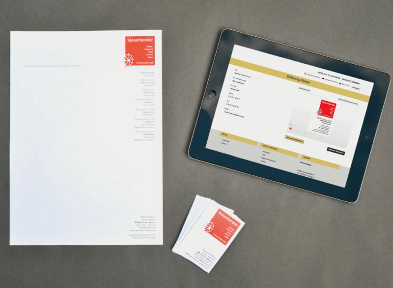 Web-to-Print Lösung